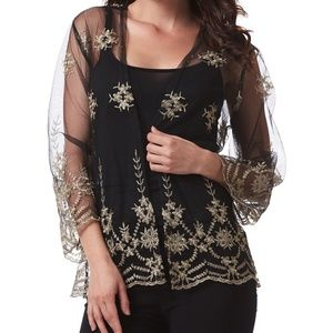 Simply Couture Floral Lace Cardigan Coming Soon!